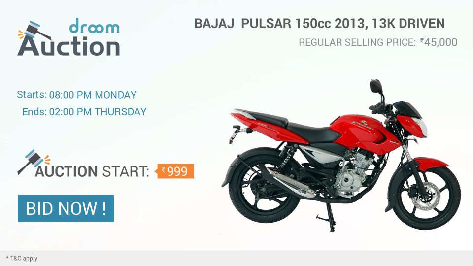 Droom-Auction-Bike-Pulsar