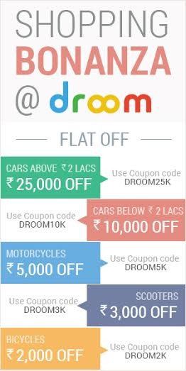 Droom Discount Offers