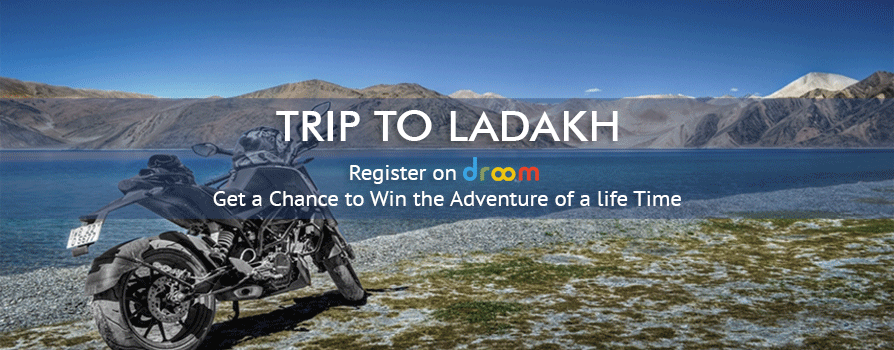 Ladakh tour at Droom