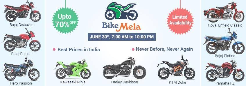 Bike Mela at Droom