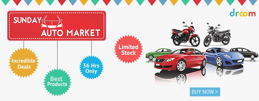 Sunday auto market