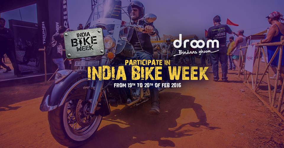 India Bike Week Droom