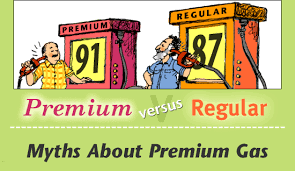 Regular Fuel or Premium Fuel