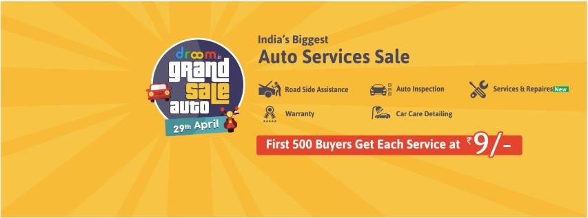 Auto Services Sale