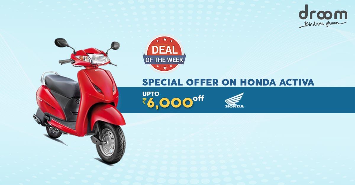 Honda Activa Deals