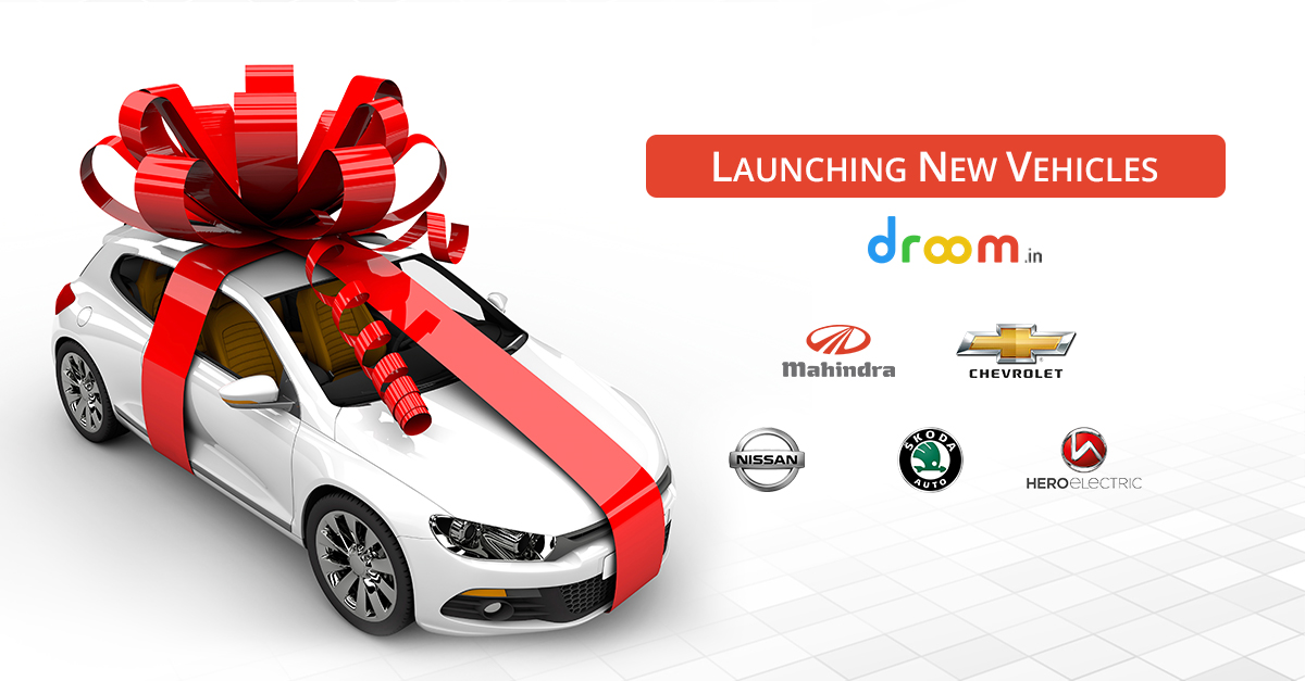 new vehicles launch at droom