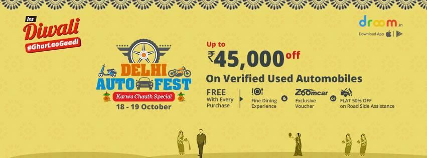 Delhi Auto Fest- Karwa Chaith Special