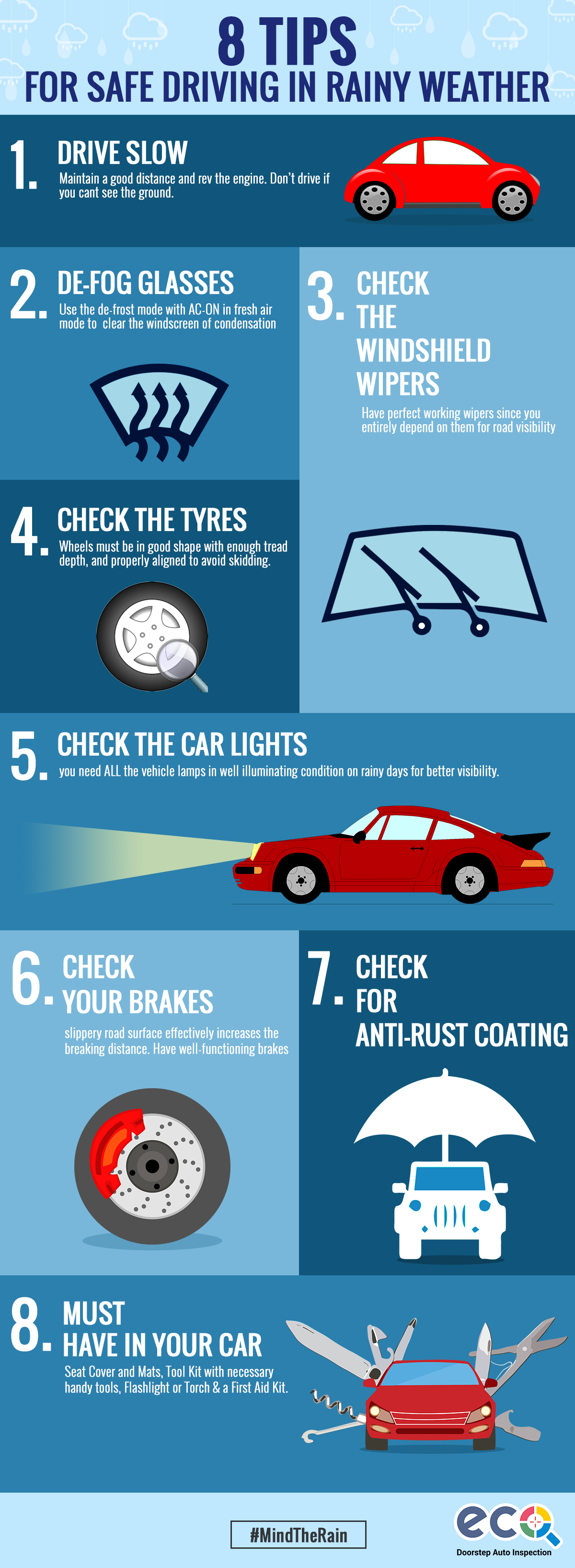 Tips for Safe Driving in Rainy Weather
