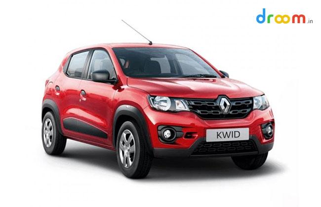 Renault kwid Price