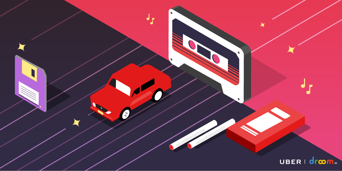 #Backtothe90s with Uber