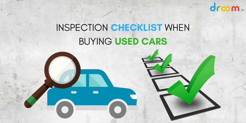 Inspection Checklist Used Cars India