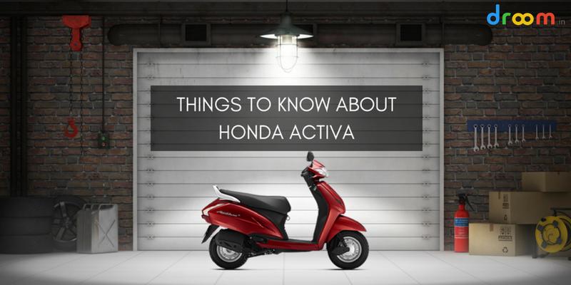 Used Honda Activa India