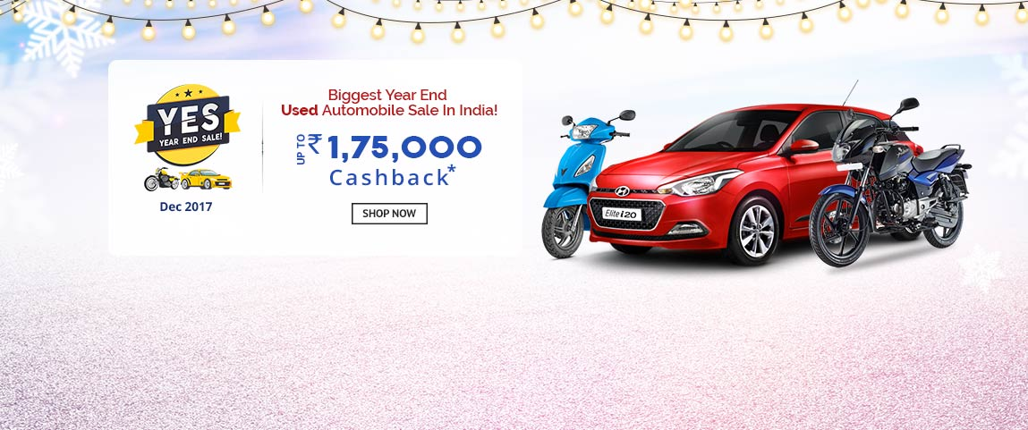 Year End Sale on Used Automobile India