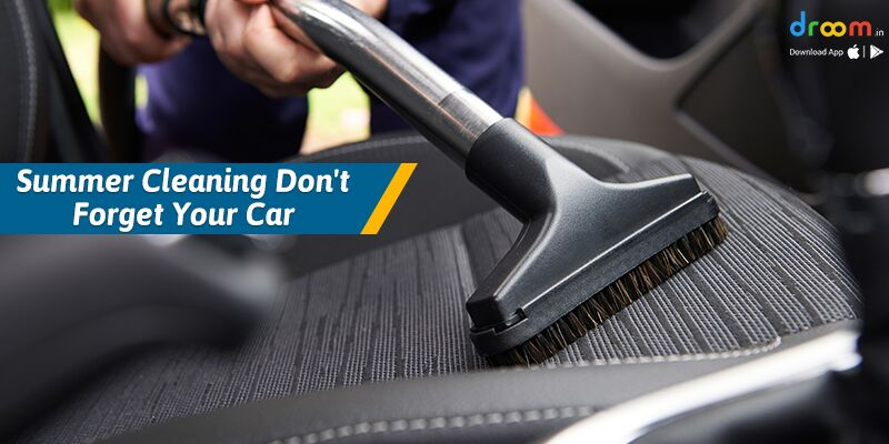 Don't Forget Your Car Summer Cleaning