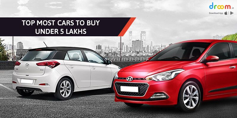 Cars to Buy Under 5 Lakhs