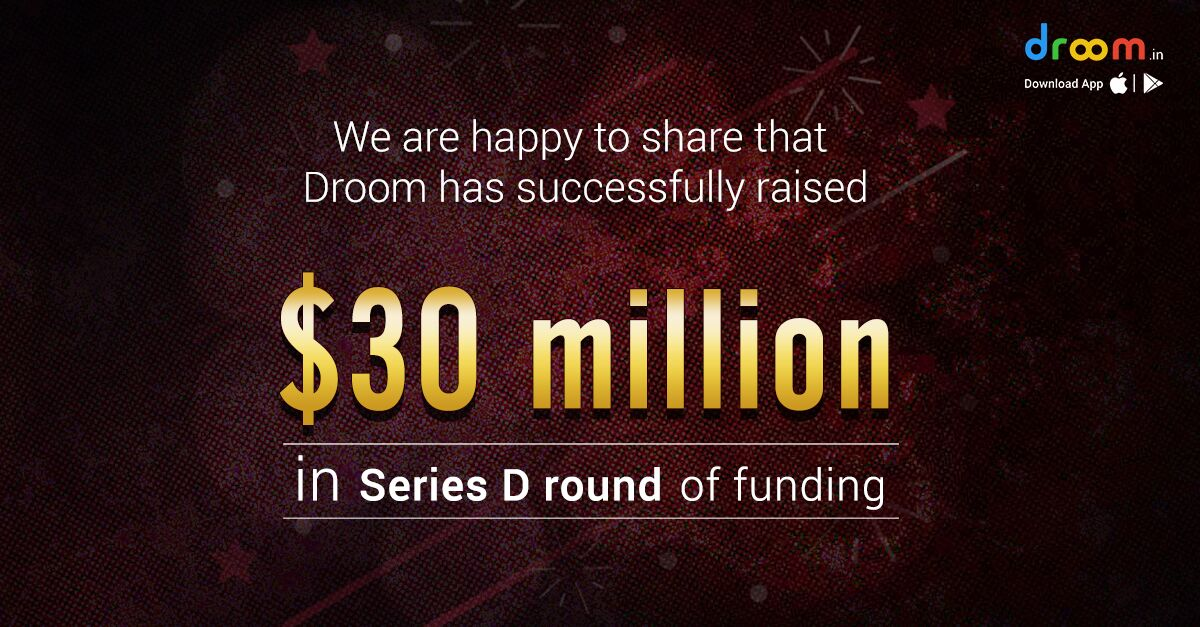 Droom raises $30 million in Series D