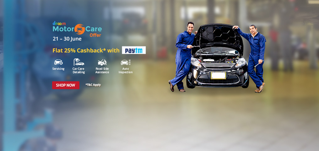 25% Cashback on Motor Care