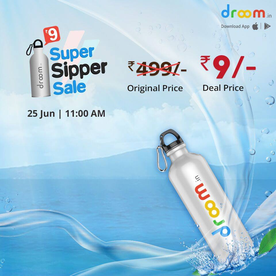 Droom Sipper Sale India
