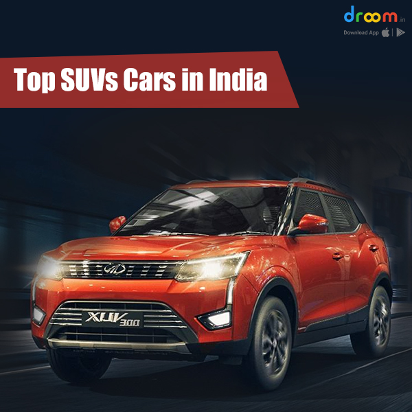 top suv cars in india