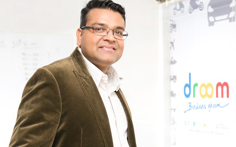 Droom Founder Sandeep Aggarwal
