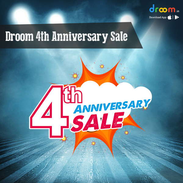 Droom 4th Anniversary Sale