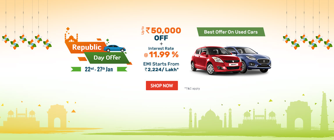Republic Day offer on new and used vehicles
