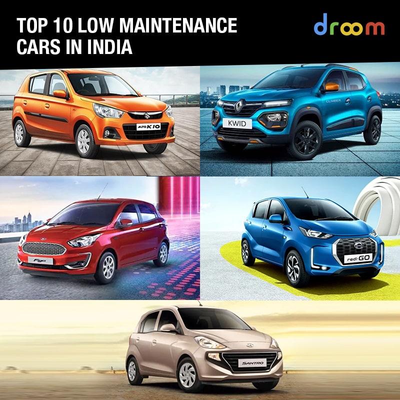 low maintenance cars