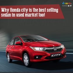 Why Honda city is the best selling sedan in used market too!