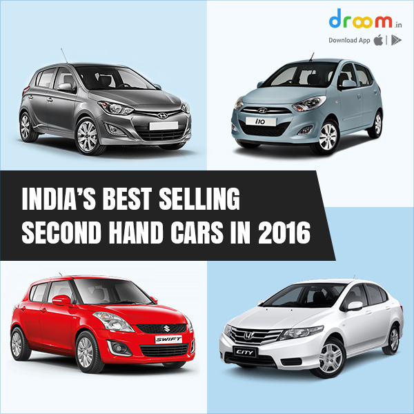 India's Best Selling Second Hand Cars In 2016