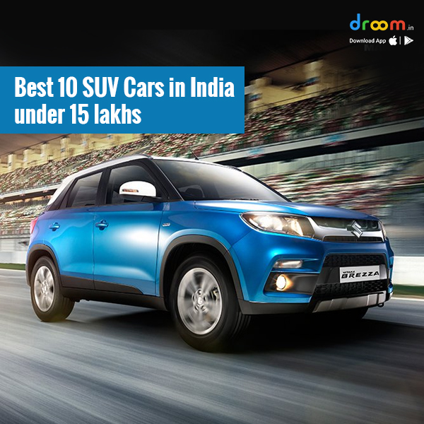 Top 10 SUV Cars in India Under 15 Lakhs