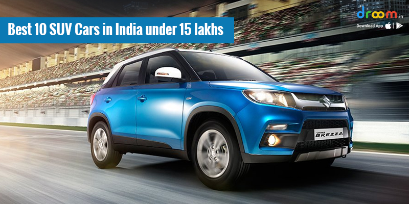 Best 10 SUV Cars in India under 15 lakhs