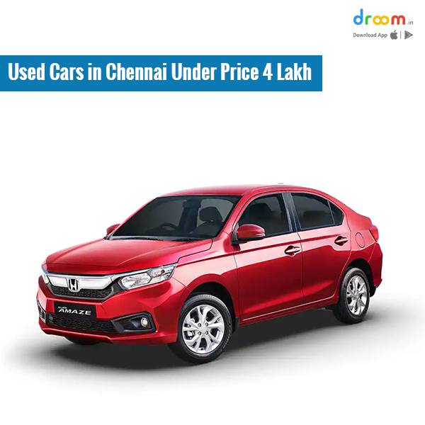 Used Cars in Chennai Under Price 4 Lakh