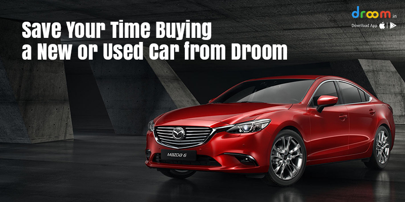 buying a new car from droom