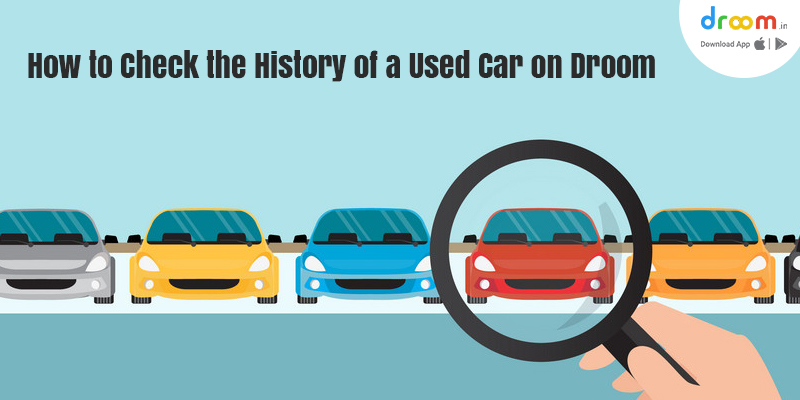 check vehicle history online