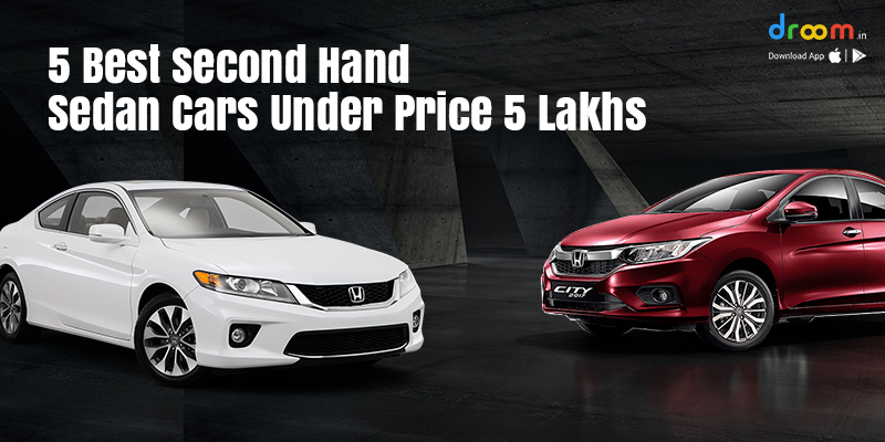 second hand sedan cars in india