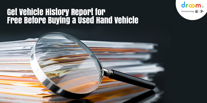 Vehicle History Report Online