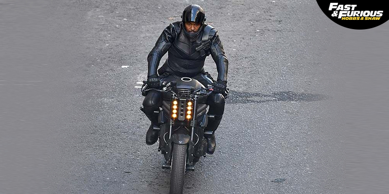 Bikes Appeared in Hobbs and Shaw