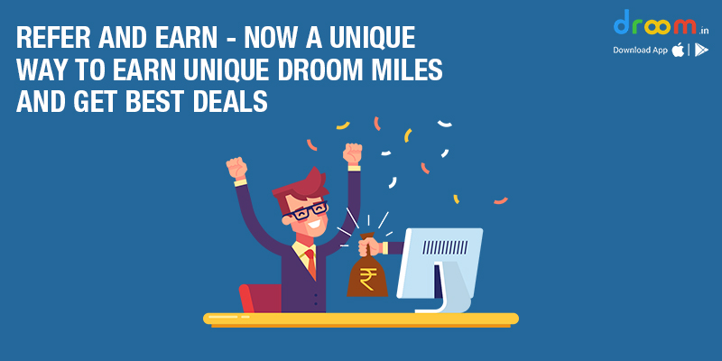 Refer and Earn Droom Miles Online