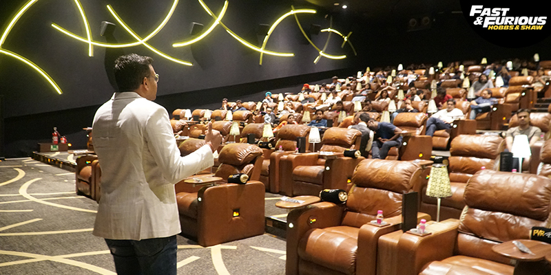 Sandeep Aggarwal Addressing at PVR's Director Cut