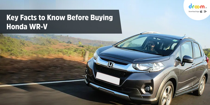 Honda WR-V On Road Price