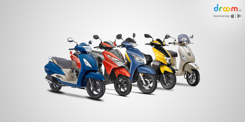 best two wheeler for ladies in india