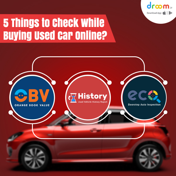 Things To Check While Buying Used Car Online