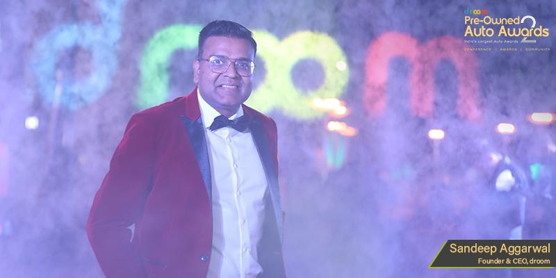 Droom CEO Sandeep Aggarwal