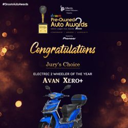 Avan xero+ - Electric 2 wheeler of the year_droom
