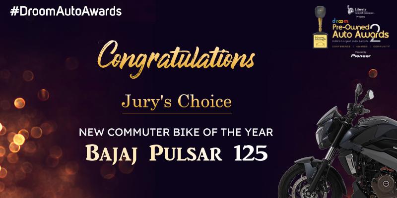 Bajaj Pulsar 125- New Commuter Bike of the Year