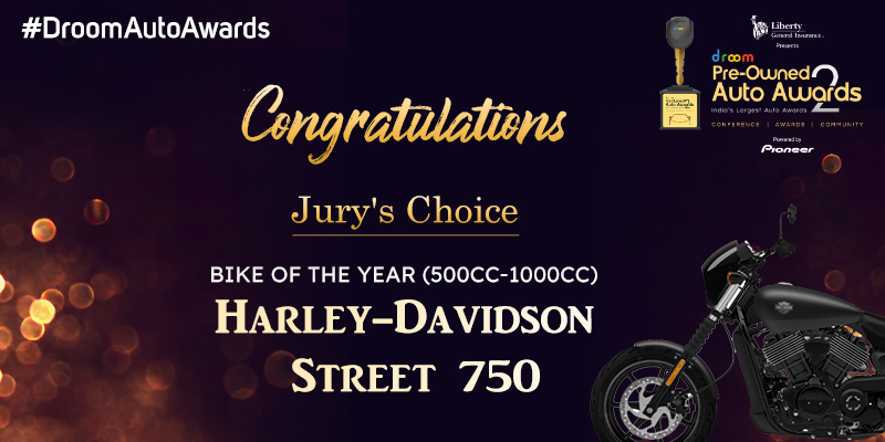Harley Davidson Street 750_bike of the year(500cc -1000cc)