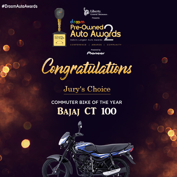 Bajaj CT 100 Commuter bike of the year
