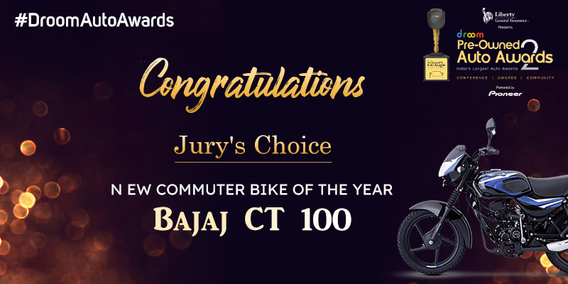 Jury choice bajaj ct 100