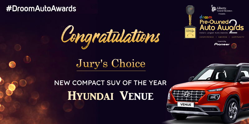 Hyundai Venue- New Compact SUV of the Year