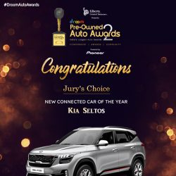 Kia Seltos- New Connected Car of the year